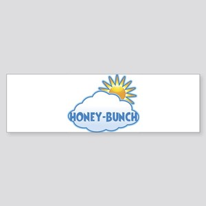 honey-bunch (clouds) Bumper Sticker
