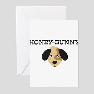 HONEY-BUNNY (dog) Greeting Cards (Pk of 10)