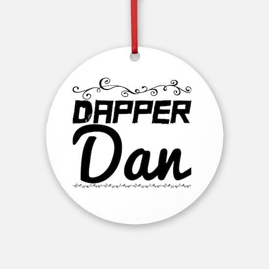 Cute Dan Round Ornament