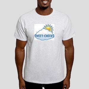 sweet-cheeks (clouds) Light T-Shirt