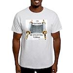 I'd Rather Be Studying Torah Ash Grey T-Shirt