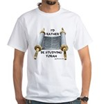 I'd Rather Be Studying Torah White T-Shirt