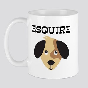 ESQUIRE (dog) Mug
