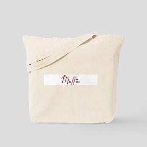 Muffin (hearts) Tote Bag