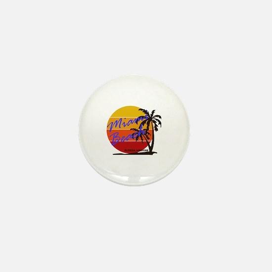 Unique Miami Mini Button