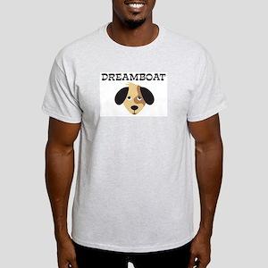 DREAMBOAT (dog) Light T-Shirt
