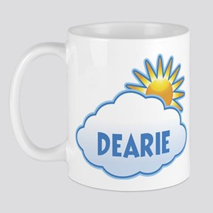 dearie (clouds) Mug