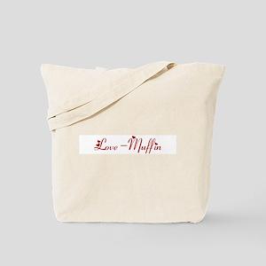 Love-Muffin (hearts) Tote Bag