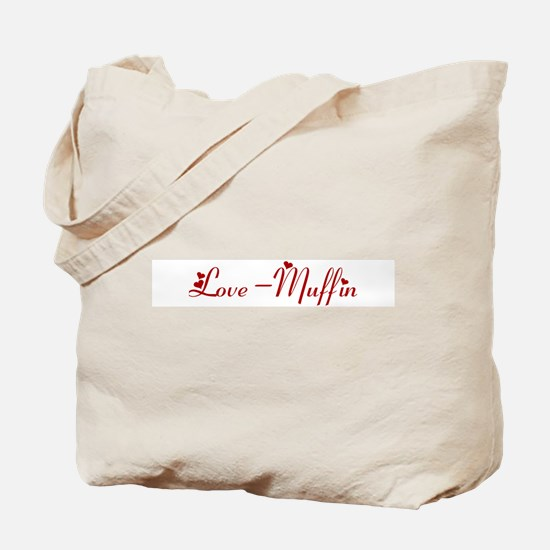 Love-Muffin (hearts) Tote Bag