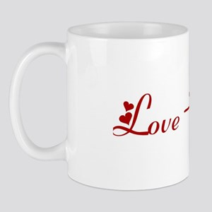 Love-Muffin (hearts) Mug