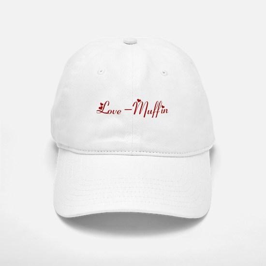 Love-Muffin (hearts) Baseball Baseball Cap