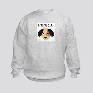 DEARIE (dog) Kids Sweatshirt