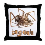 Found Bug Throw Pillow
