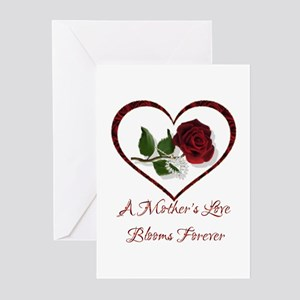 Pregnant wife greeting cards cafepress a mothers love greeting cards pk of 10 m4hsunfo