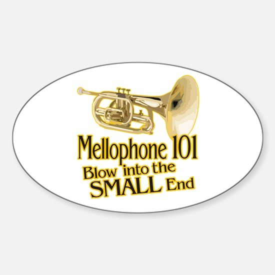 Mellophone 101 Oval Decal