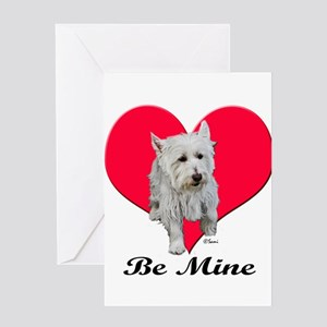 Max the Westie Greeting Cards
