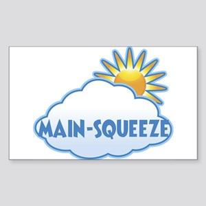 main-squeeze (clouds) Rectangle Sticker