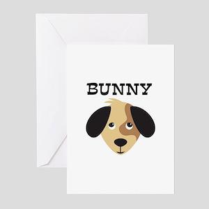 BUNNY (dog) Greeting Cards (Pk of 10)