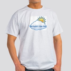 big-daddy-yum-yum (clouds) Light T-Shirt