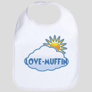 love-muffin (clouds) Bib