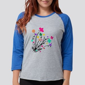 'Flower Spray' Long Sleeve T-Shirt