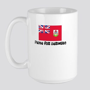 Peace for Bermuda Large Mug