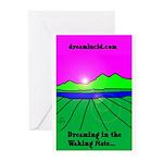 dreamlucid.com Greeting Cards (Pk of 10)