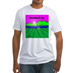 dreamlucid.com Fitted T-Shirt