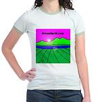 dreamlucid.com Jr. Ringer T-Shirt