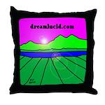 dreamlucid.com Throw Pillow