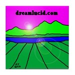 dreamlucid.com Tile Coaster