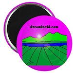 """dreamlucid.com 2.25"""" Magnet (10 pack)"""