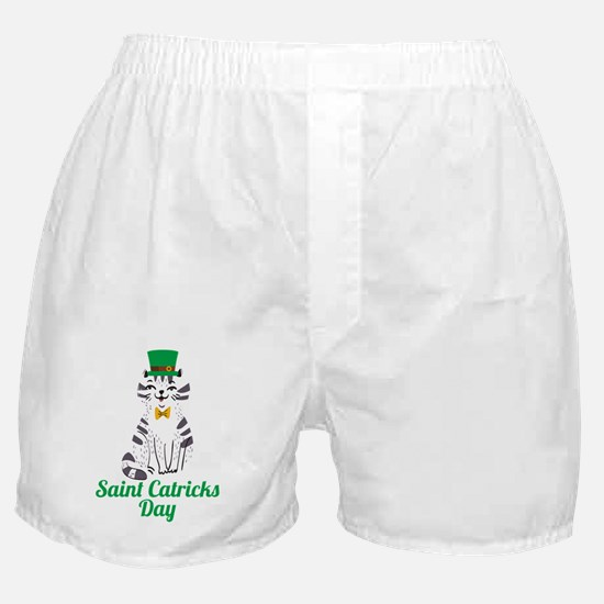 Cute St pattys day Boxer Shorts