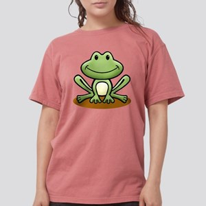Green Frog White T-Shirt