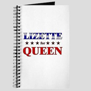 LIZETTE for queen Journal