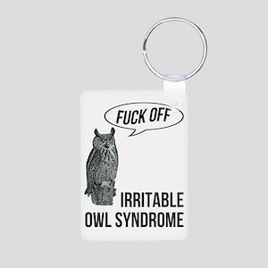 Irritable Owl Syndrome Keychains