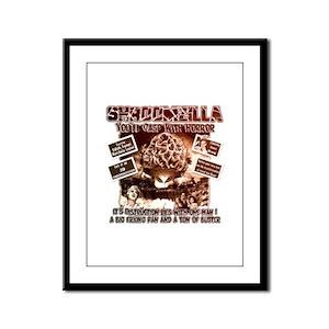 Morel insearch of Shroomzilla Framed Panel Print