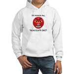Mad About Valentines Day Hooded Sweatshirt