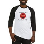 Mad About Valentines Day Baseball Jersey
