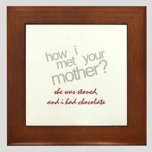 Stoned How I Met Your Mother Framed Tile