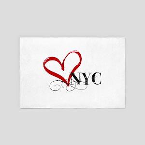 LOVE NYC FANCY 4' x 6' Rug