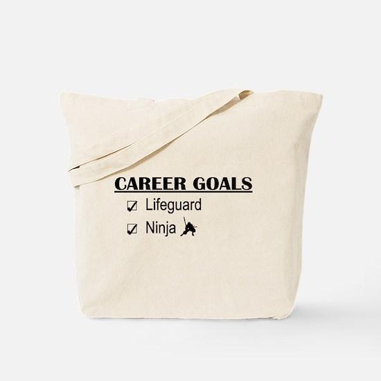 Lifeguard Career Goals Tote Bag