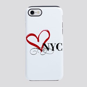 LOVE NYC FANCY iPhone 8/7 Tough Case