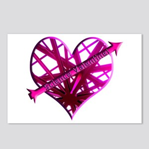 Helaine's Science Valentine Postcards (Package of
