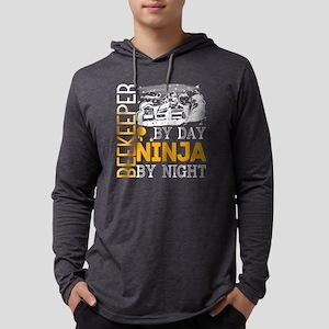 Beekeeper By Day Ninja By Nigh Long Sleeve T-Shirt