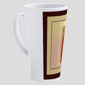 Chili Peppers 17 oz Latte Mug