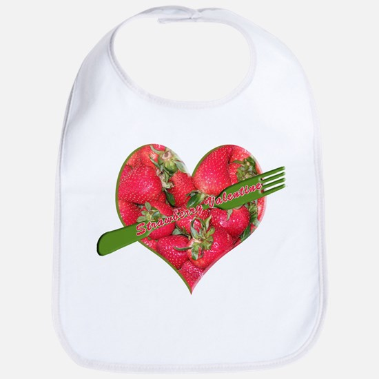 Helaine's Strawberry Valentin Bib