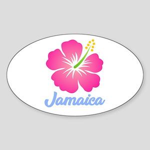 Jamaica Flower Sticker