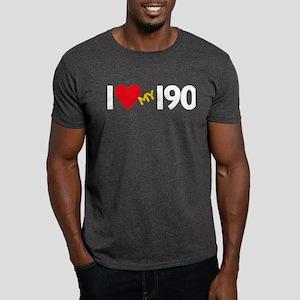 Dark T-Shirt - mercedes 190 fan