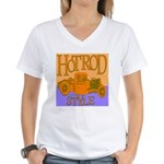 HOTROD STYLE Women's V-Neck T-Shirt